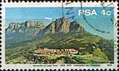 South Africa 1979 University of CapeTown SG 465 Fine Used