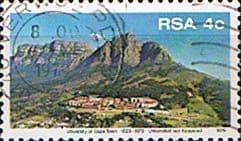 South Africa 1979 University of CapeTown SG465a Perf 12x12.5 Fine Used