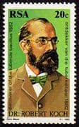 South Africa 1982 Dr. Robert Koch Fine Mint