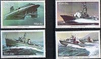 South Africa 1982 Simonstown Navy Base Ships Set Fine Mint