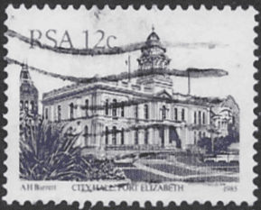 South Africa 1982 South African Architecture SG 520c Fine Used