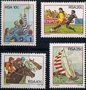 South Africa 1983 Sport Set Fine Mint