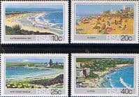 South Africa 1983 Tourism. Beaches Set Fine Mint