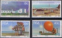 South Africa 1983 Weather Stations Set Fine Mint