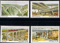 South Africa 1984 Bridges Set Fine Mint
