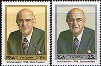 South Africa 1984 Inauguration of President Botha Set Fine Mint