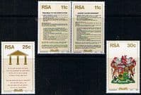 South Africa 1984 New Constitution Set Fine Mint