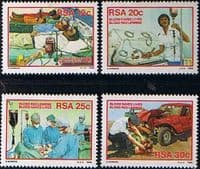 South Africa 1986 Blood Donor Campaign Set Fine Mint
