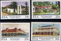 South Africa 1986 Restoration of Historic Buildings Set Fine Mint