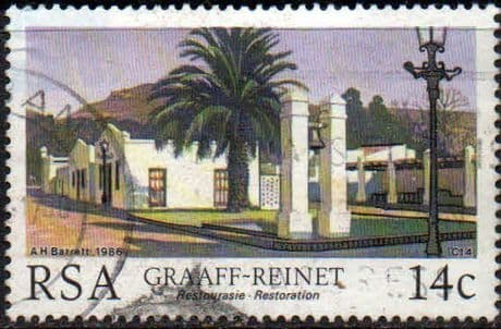 South Africa 1986 Restoration of Historic Buildings SG 600 Fine used