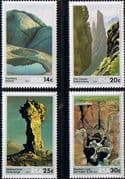 South Africa 1986 Rock Formations Set Fine Mint
