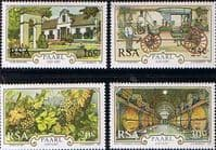 South Africa 1987 300th Anniversary of Paarl Set Fine Mint