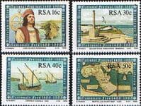 South Africa 1988 Cape of Good Hope Set Fine Mint