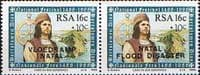 South Africa 1988 Natal Flood Relief Fund Third Issue Pair Fine Mint