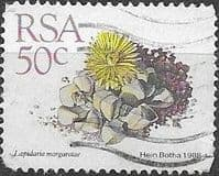 South Africa 1988 Succulents SG 665 Fine Used