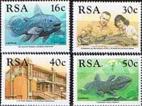 South Africa 1989 Discovery of Coelacanth Set Fine Mint