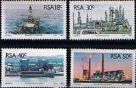 South Africa 1989 Energy Sources Set Fine Mint