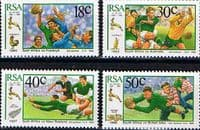 South Africa 1989 South African Rugby Board Set Fine Mint