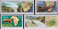 South Africa 1990 Co-operation in Southern Africa Set Fine Mint