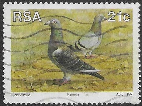 South Africa 1991 Animal Breeding in South Africa SG 720 Fine Used
