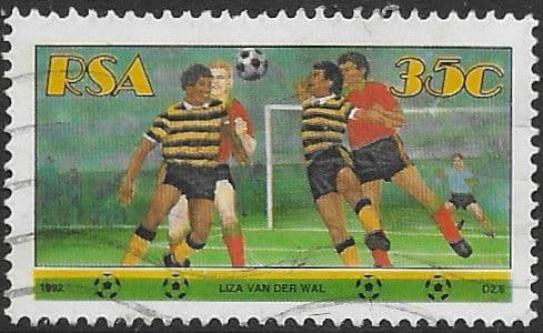 South Africa 1992 Sports SG 761 Fine Used