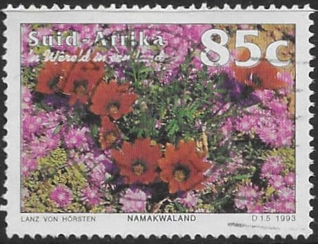 South Africa 1993 Tourism SG 826 Flowers from Namaqualand Fine Used