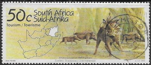 South Africa 1995 Tourism SG 864  Fine Used