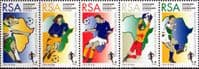 South Africa 1996 African Nations Football Championship Tenant Strip Fine Mint