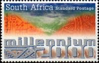 South Africa 2000 New Millennium Fine Mint