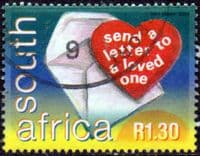 South Africa 2000 World Post Day SG 1202 Fine Used