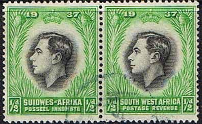 South West Africa 1937 SG 97 Coronation Fine Used
