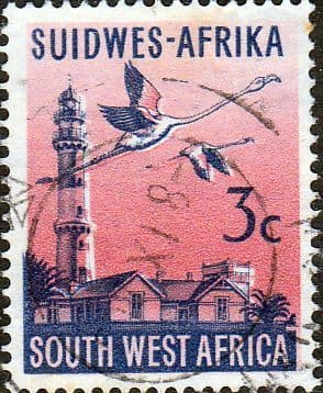 South West Africa 1961 First Decimal SG 176 Fine Used