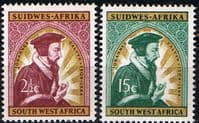 South West Africa 1965 Calvin Anniversary Set Fine Mint