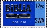 South West Africa 1970 SG 229 Bible Society Fine Mint