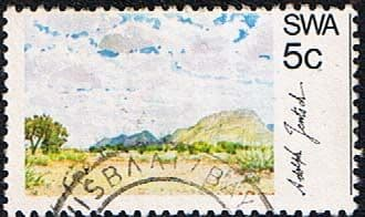 South West Africa 1973 SG 237 Scenery Barren Country Fine Used