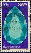 South West Africa 1974 Diamond Mining SG 267 Fine Used