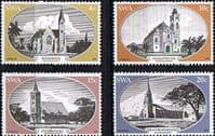 South West Africa 1978 Historic Churches Set Fine Mint