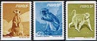 South West Africa 1980 Wildlife Coil Stamps Set Fine Mint