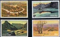 South West Africa 1981 Fish River Canyon Set Fine Mint