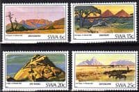 South West Africa 1982 SG 398 /401 Mountains Set Fine Mint