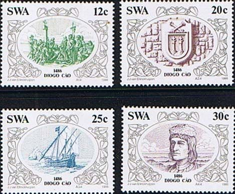 South West Africa 1986 Diogo Cao's Set Fine Mint