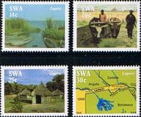 South West Africa 1986 Life in the Caprivi Strip Set Fine Mint
