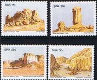 South West Africa 1986 Rock Formations Set Fine Mint