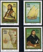 South West Africa 1988 Discovery of Cape of Good Hope by Bartolomeu Dias Set Fine Mint