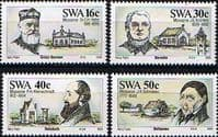 South West Africa 1989 Missionaries Set Fine Mint