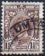 Southern Rhodesia 1931 SG 16d George V Head Fine Used