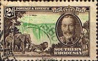 Southern Rhodesia 1935 Silver Jubilee SG 32 Fine Used