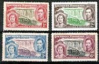Southern Rhodesia 1937 King George VI Coronation Set Fine Mint