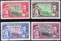 Southern Rhodesia 1937 King George VI Coronation Set Fine Used