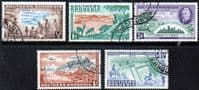 Southern Rhodesia 1953 Rhodes Centenary Set Fine Used